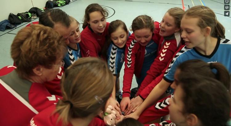 Die weibliche C-Jugend kämpft bald um die Kreismeisterschaft
